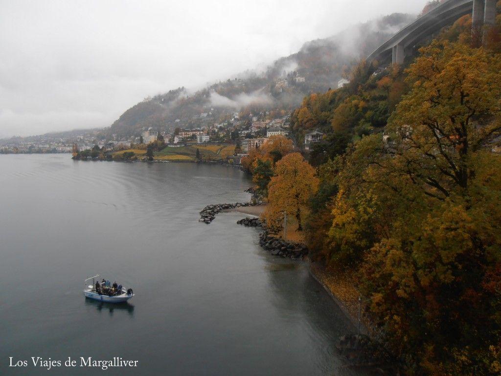 vista desde la planta alta del castillo de Chillon - Los viajes de Margalliver